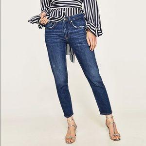 NWT Zara The Slim Boyfriend Jeans